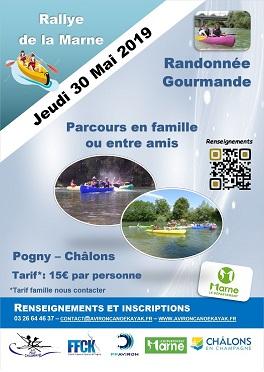 Rallye de la Marne le jeudi 30 mai 2019